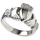 Men's Irish Sterling Silver Heavy Claddagh Ring From Ireland