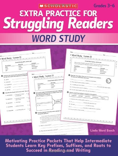 Extra Practice for Struggling Readers: Word Study: Motivating Practice Packets (Key Phonics)