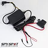 Hard Wire Power Kit for Mini Portable Micro GPS Tracker, GL200 GL300 GL300W and GL300VC Easy Installation, No Recharge Needed for Spy Hardwire Car Kit Power Supply