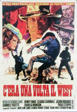 HUGE LAMINATED / ENCAPSULATED C'era Una Volta Il West - Sergio Leone - Once Upon A Time In The West - Italian Film POSTER measures approximately 100x70 cm Greatest Films Collection Directed by Sergio Leone. Starring Henry Fonda, Claudia Cardinale, Jason Robards.