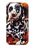 New Snap-on JenniferDanielle Skin Case Cover Compatible With Galaxy S4- Dalmatian