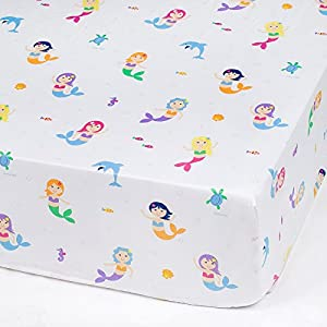 51sMnb-groL._SS300_ Mermaid Crib Bedding and Mermaid Nursery Bedding Sets