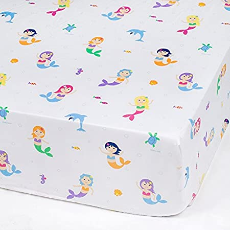 51sMnb-groL._SS450_ Mermaid Crib Bedding and Mermaid Nursery Bedding Sets