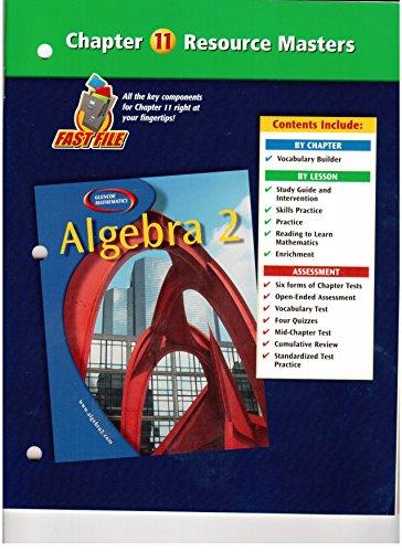 - Algebra 2 Chapter 11 Resource Masters