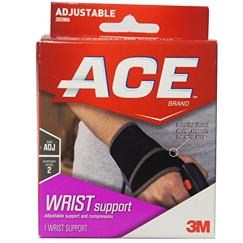 ACE Wrist Support One Size 1 ea (Pack of 2)