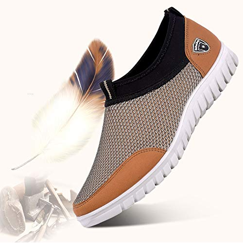 Unisex Shoes Men Lace Loafers Mesh Casual Comfortable Mesh Breathable Footwears Shoes up Sneakers rwrvFqA6