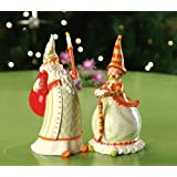 Patience Brewster Santa and Mrs Claus Salt and Pepper Shakers by Krinkles