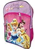 Disney Princess 16' Backpack Large Purple Tiana Cinderella