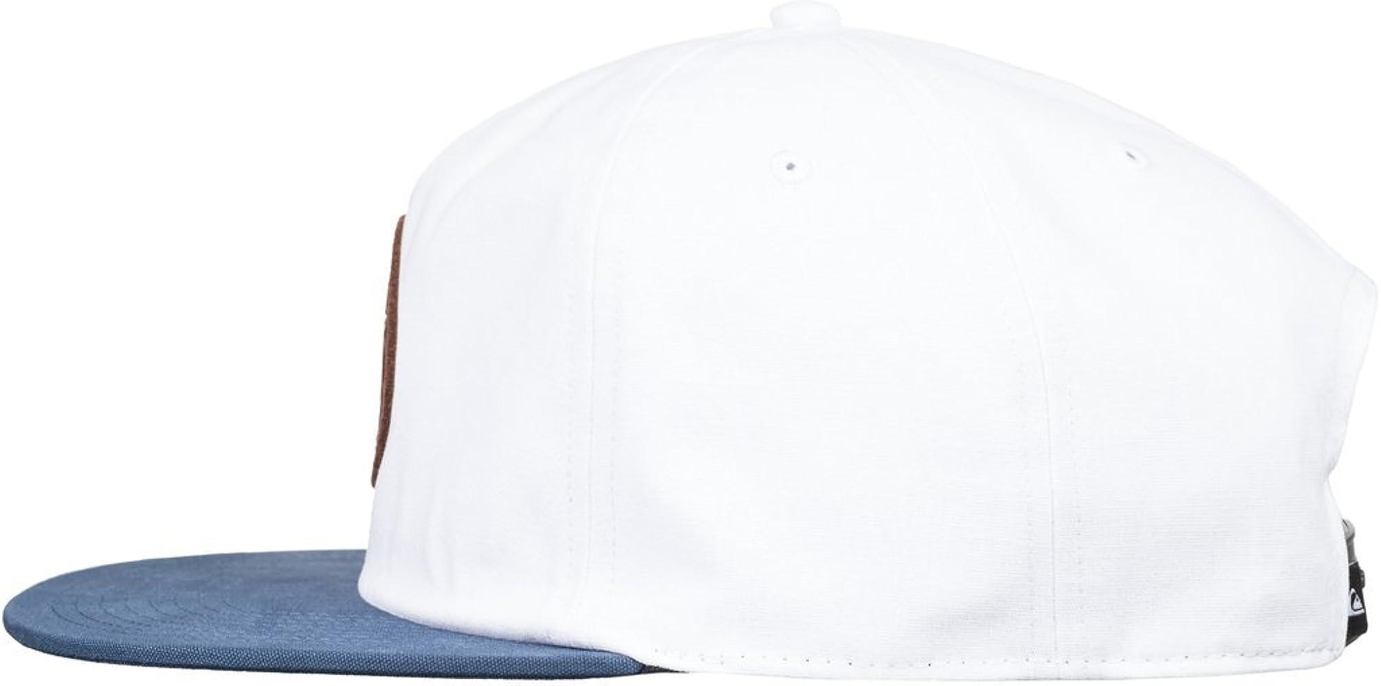 Quiksilver - Gorra Ajustable - Hombre - One Size - Blanco: Amazon ...