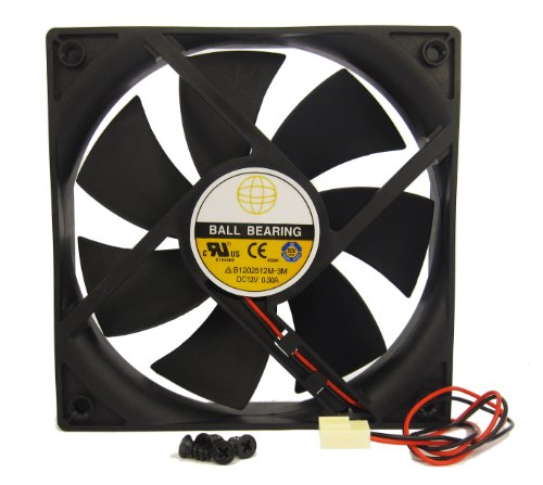 120mm X 25mm New Case Fan 12V 124CFM PC CPU Comput...