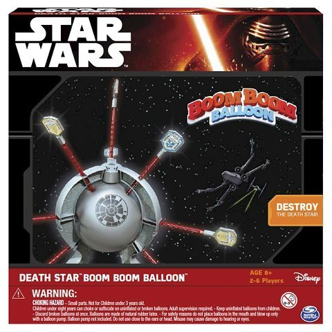 New Star Wars Death Star Boom Boom Balloon Game