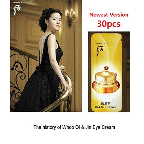 The history of Whoo Gongjinhyang Qi & Jin Eye Cream 30pcs Korean Cosmetics