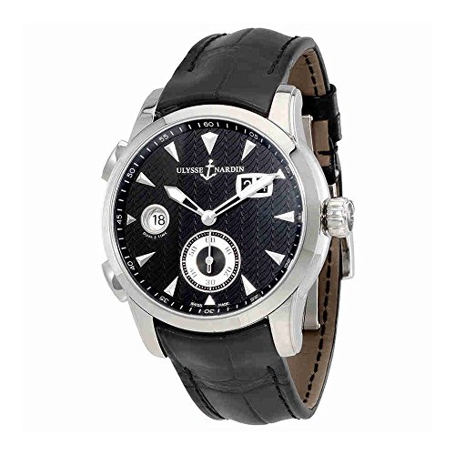 Ulysse Nardin Dual Time Automatic Black Dial Mens Watch (Ulysse Nardin Dual Time)