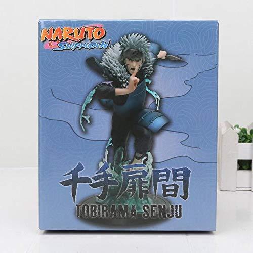 (Cholyme LLC Naruto Shippuden Kakashi Namikaze Minato Jiraiya Hinata Senju Hashirama Tobirama Naruto Figure PVC Action Figure Toy - Tobirama with Box - Code A513)