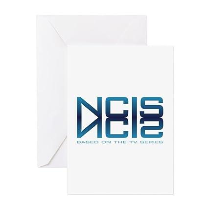 Amazon Cafepress Ncis Logo Reflection Greeting Card Note