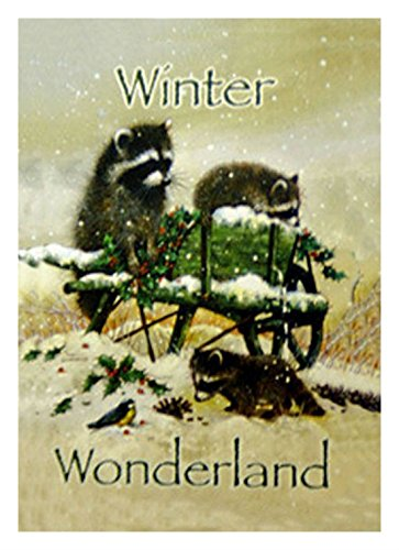 Winter Wonderland Garden Flag