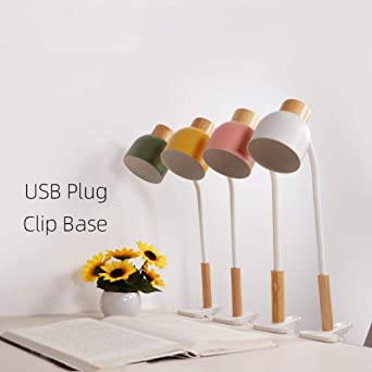 Clip de lampe de bureau Led Pince Lampe de table Bloc notes