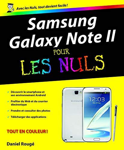 Samsung Galaxy Note II pour les Nuls: Amazon.es: Rougé, Daniel ...