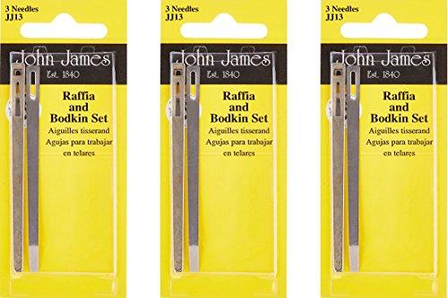 Bodkin & Raffia Set- (3 Pack) ()