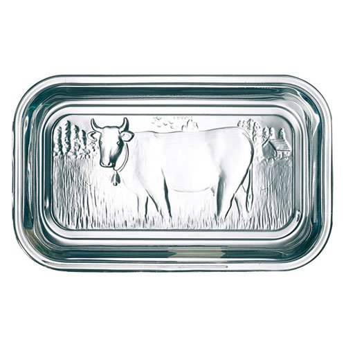 Arc International Luminarc Cow Butter Dish, 6-1/2-Inch by 2-3/4-Inch (Can Monster Bfc)