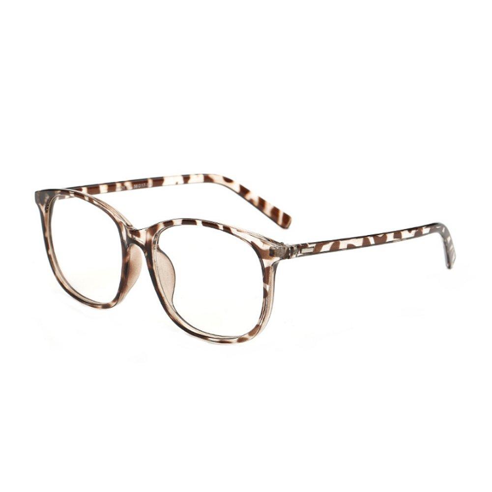 Inlefen Glasses for Men Women -Clear Lens Glasses Square plastic glasses Retro fashion