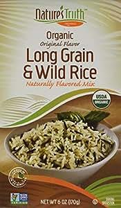 Amazon.com : Nature's Truth Organic Long Grain and Wild