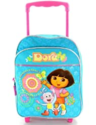 Dora the Explorer Mini Rolling Backpack (12 Inch) [Toy]