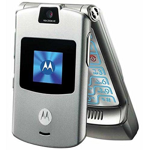 verizon motorola flip phones. amazon.com: verizon wireless motorola razr v3m - silver: cell phones \u0026 accessories flip z