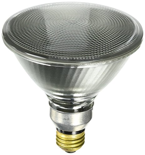 Sylvania 14577 Capsylite PAR38 90 Watt 130V Flood Beam Tungsten Halogen Reflector Bulb 2 -Pack