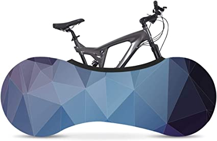 Bicycle Wheel House Dust Cover Elastic Indoor Bicycle Storage Cover Graffiti Series Mountain Biking Sewing Dust Shroud Storage Bag