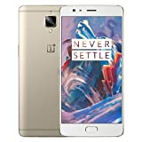 OnePlus 3, RAM 6GB+ROM 64GB 4G FDD-LTE 5.5 inch Android 6.0 Smart Phone Qualcomm Snapdragon 820 Quad Core 2x2.2GHz + 2x1.6GHz, 8.0MP+16.0MP (Gold)