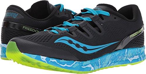 Men Neutral Apparel - Saucony Men's Freedom ISO Running Shoe, Blue, 12 M US