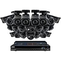 Lorex 32 channel NR9326 4K Security System 4KHDIP3222NV- 10 4K LNE8974BW Motorized Audio Turret Cameras, 12 4K LNB8973B Motorized Bullet Cameras