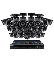 Lorex 32 channel NR9326 4K Security System 4KHDIP3222NV- 10 4K LNE8974BW Motorized Audio Turret Cameras, 12 4K LNB8973B Motorized Bullet Cameras