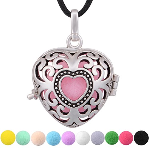 eudora-heart-to-heart-essential-oil-perfume-diffuser-locket-pandent-necklace-24-10-colors-pompons