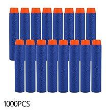 XCSOURCE 1000pcs 7.2cm EVA Refill Soft Foam Bullet Darts Blue for Kids Toy Gun TH274