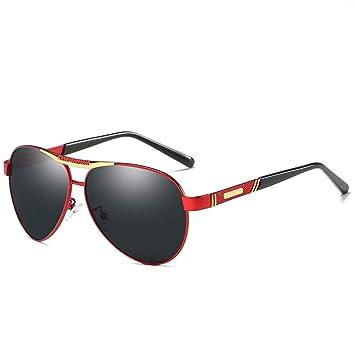 AAMOUSE Gafas de Sol Piloto para Hombres Gafas de Sol ...