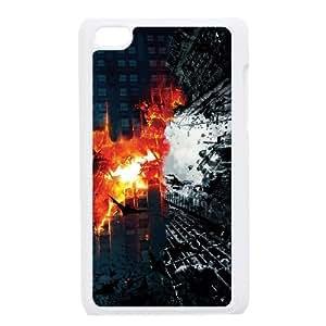 iPod Touch 4 Case White Batman Dark Knight Trilogy SUX_029540