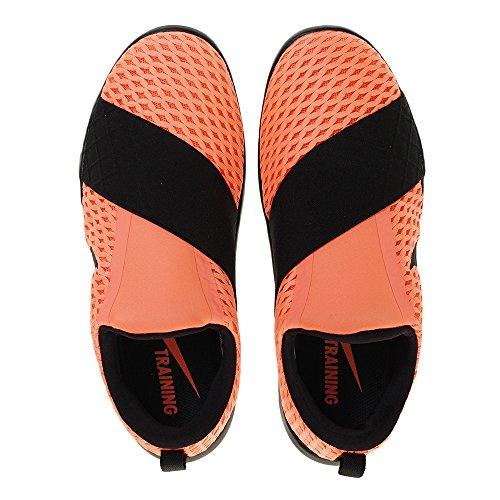 c10e165db372 free shipping Womens Nike Free Connect 843966 801 Bright Mango   Metallic  Silver-B