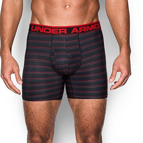 "Under Armour UA Original Series 6"" Printed Boxerjock XXL Black"
