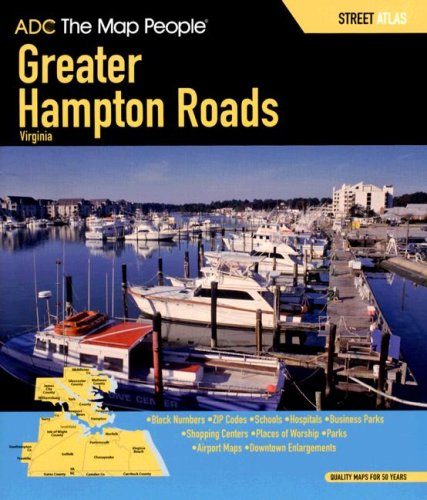Download ADC the Map People Greater Hampton Roads Virginia: Street Map Book pdf epub