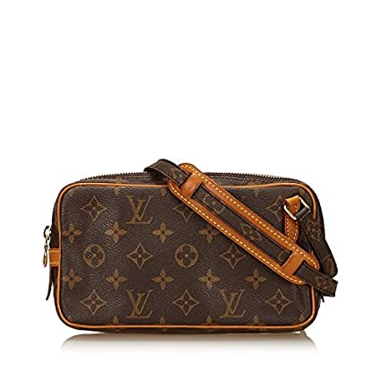vasta selezione di 8bacb ed62a Louis Vuitton, Borsa a tracolla donna Brown Monogram with Gold ...
