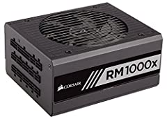 Corsair RMx series power supplies give you extremely tight voltage control, quiet operation, Gold-certified efficiency, and a fully modular cable set. Built with all Japanese 105 Degree C capacitors, they're a great choice for high performanc...