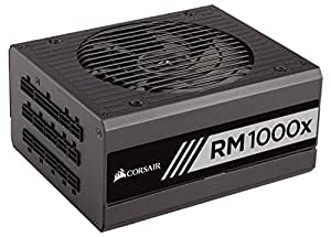 Corsair RMx Series, RM1000x, 1000W, Fully Modular Power Supply, 80+ Gold Certified