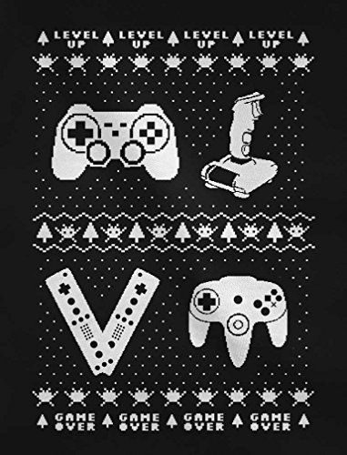 Vintage Vintage Vintage Shirtgeil Videogame Felpa Felpa Felpa Felpa Sweater Donna Verde da Joystick Ugly da 1ddAZqw