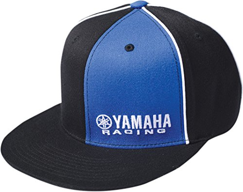 Factory Effex Yamaha Racing Flexfit Hat (Small/Medium) (Black/Blue)
