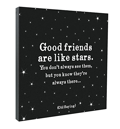Good Friends Quotable Canvas ()