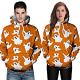 Corriee Fashion Tops for Unisex 2018 Couples Casual Autumn Long Sleeve Hoodies Chic 3D Printing Hooded Sweatshirts
