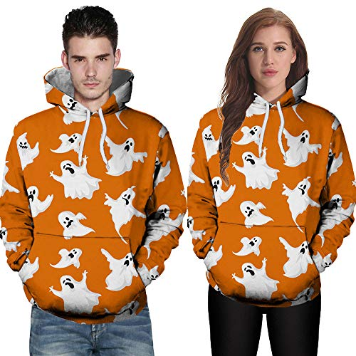 Corriee Fashion Tops for Unisex 2018 Couples Casual Autumn Long Sleeve Hoodies Chic 3D Printing Hooded Sweatshirts by Corriee Men Hoodies
