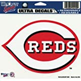 "MLB Cincinnati Reds Multi-Use Colored Decal, 5"" x 6"""